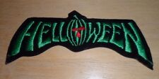 VTG 80s Helloween Embroidered Iron On Patch Metal Edguy Hammerfall Iced Earth
