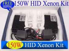 150W HID Xenon Conversion Kit  Headlight Car Bulb H1 H4 H7 H11 4300K 6000K 8000K