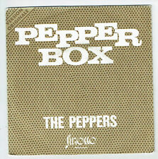 "The PEPPERS Vinyle 45T SP 7"" Vinyl PEPPER BOX - PINCH OF SALT - SIROCCO 4800.1"