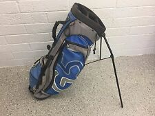 NICE Grey & Blue PING GOLF G5 Hoofer Xtreme STAND BAG Lightweight CLEAN Used G 5