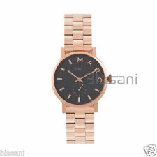 Marc by Marc Jacobs Original MBM3330 Women's Baker Rose Gold Black Steel Watch