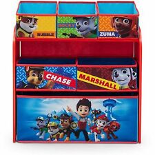 Multi-Bin Organizer Paw Patrol Toy Book Storage Kids Toddler Bins Chest New