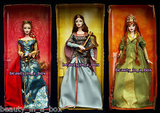 Bard Spellbound Lover Faerie Queen Barbie Doll Legends of Ireland NO BOX Lot 3""
