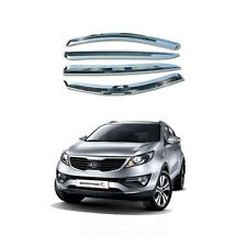 New Chrome Shade ,Rain Guard Door Window,Vent Visors for Kia Sportage 2011-2013
