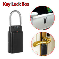 key Storage Cabinet 4 Digit Key Storage Security Lock for Realtor Outdoor Use