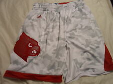 2014-15 Louisville Cardinals Adidas Armed Forces Classic Authentic Shorts XL+2