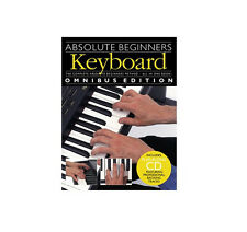 RRP $40 ABSOLUTE BEGINNERS - KEYBOARD OMNIBUS EDITION LEARN TUITIONAL BOOK & CD