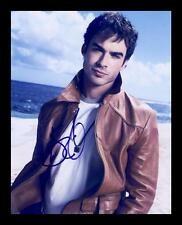 IAN SOMERHALDER AUTOGRAPHED SIGNED & FRAMED PP POSTER PHOTO