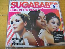 SUGABABES HOLE IN THE HEAD  CD SINGOLO SIGILLATO