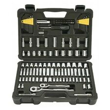 "Stanley 123-Piece Socket Ratchet Tools Set Metric 1/4"" 3/8"" Drive SAE Craftsman"