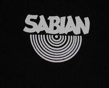 Sabian cymbals - logo t-shirt - XL size