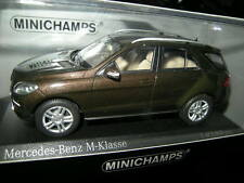 1:43 Minichamps Mercedes-Benz Clase M 2011 Brown/marrón nº 400030101 OVP