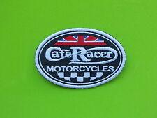 PATCH CAFE'RACER MOTORCYCLES  RICAMATA TERMOADESIVA CM.8,5X5,5-REPLICA