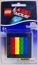 NEW! The LEGO Movie Pencil Sharpener! Fun Multi Color! Two Size Sharpener!