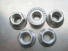 Stainless Steel Sprocket Nut Set for Aprilia RSV 1000 models, 2000- 2011