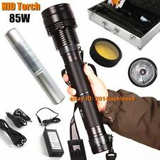 85W 8500 LM HID Xenon Light Spotlight Aluminum Alloy HID Flashlight Lamp Torch