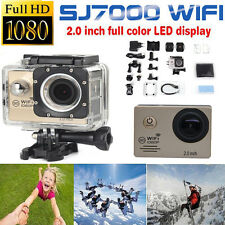 "12MP SJ7000 Full HD 1080P Waterproof Wifi 2.0"" Action Camera Sports DV Camcorder"