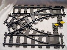 Lego Train City 2 RC Switch Tracks Mint 7939/60052/3677/60098