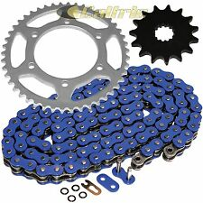BLUE O-Ring Drive Chain & Sprocket Kit Fits SUZUKI GSX-R600 GSXR600 1998-2000