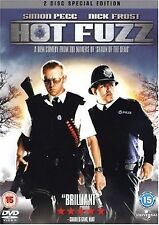 Hot Fuzz (2007) 2-Disc Set David Bradley, Bill Nighy, Nick Frost NEW UK R- 2 DVD