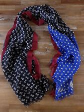 auth MOSCHINO three-color wool scarf stole - New with Tags