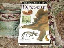 ~DK VISION~EYEWITNESS DINOSAUR~EDUCATIONAL~HOME SCHOOL~SCIENCE TEACHER~VIDEO~VHS