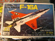 ACE Model Kit General Dynamics F-16A 1/144 Scale US Air Force