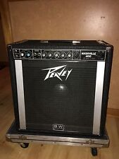 Vintage Peavey Nashville 400 Pedal Steel Guitar Amp PSG Black Widow BW Speaker