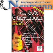 Das grosse Livre de guitare DVD + CD pour Akustik- et Électrique Tablatures