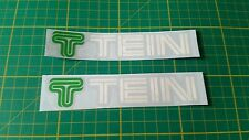 "2x 5"" tein suspension style stickers decals jdm performance honda civic kanjo"