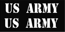 Jeep Military Decal U.S. ARMY Kit Wrangler Cherokee Rubicon Liberty Sport
