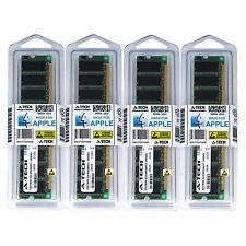 4GB KIT 4X 1GB PC2700 333MHZ APPLE Power Macintosh G5 M9020LL/A A1047 MEMORY RAM