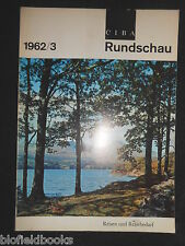 Ciba Rundschau - Vintage German Magazine -  1962, Issue 3 - Industrial/History