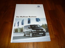 VW Multivan BUSINESS Prospekt 05/2007