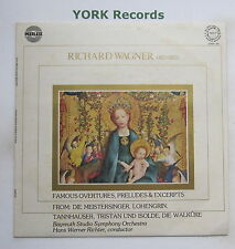 ORPS 64 - WAGNER - Famous Overtures Preludes & Excerpts RICHTER - Ex LP Record