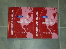 2011 Ford Edge & Lincoln MKX AWD 3.7L V6 Workshop Shop Service Repair Manual Set