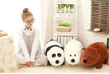 We Bare Bears Gift Custom NEW TV Show Plush Toy Doll 10 inches 3PC Xmas Gifts