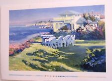 "Lois Johnson VIEW FROM HARBOR DRIVE   (24"" x 36"") (BEAUTIFUL POSTER)"