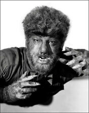 Lon Chaney Jr Photo Large 11x14  - The Wolf Man 1941 Horror Monster B&W