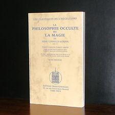 Henri Corneille-Agrippa - La Philosophie Occulte ou la Magie Livre Premier