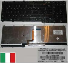 Tastiera Qwerty Italiana TOSHIBA Satellit A500 AETZ1I00020-IT 9Z.N1X82.00E