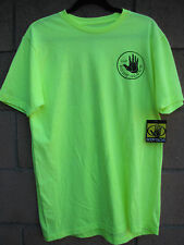Men's Body Glove Neon Yellow T-Shirt Large New with Tags