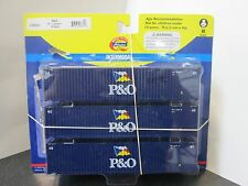Second P&O 45' Containers 3-Pack HO - Athearn #28871 vmf121