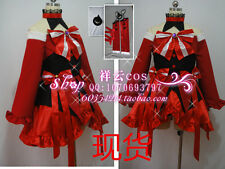 Maho Girls Precure! Red Halloween Party Girls Dress Cosplay Costume