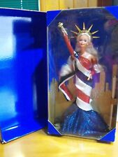 1995 FAO SCHWARZ STATUE of LIBERTY Barbie Doll SHE IS GORGEOUS!!