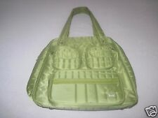 LUG LADIES CARRY-ON/WEEKENDER 2-HANDLE SHOULDER LUGGAGE-NWOT-LOTS OF POCKETS