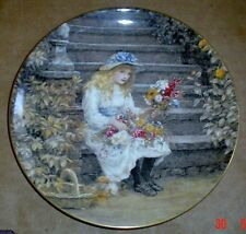 Wedgwood Collectors Plate YESTERDAYS CHILD - THE FLOWER GIRL
