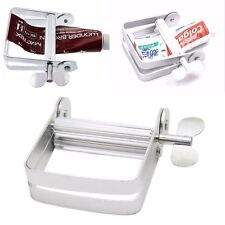 Aluminum Toothpaste Dispenser Tool Tube Squeezer Easy Bathroom Home DIY