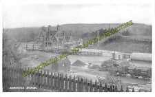 Axminster Railway Station Photo. Chard - Seaton Jct. Yeovil to Honiton Line. (7)