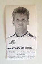 Cyclisme : Wim Arras - Paris-Bruxelles 1987 photo de presse